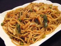 Chicken Lo Mein With Vegetables. This is the best lo mein I have ever eaten. I use whole wheat thin spaghetti noodles and beef boullion cubes instead of chicken. soooo good.