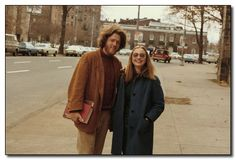 1970s Bill Clinton in his Yale days, with Hillary