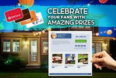 Agents, give your fans a chance to win prizes to build their dream home from their favorite retailers with Dream Sweeps!  Fans can enter to win each month just by liking your business page. We provide the prizes, YOU get the benefits!