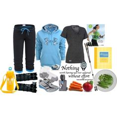 Fashion for Fitness :: Walking for Weight Loss, created by leighanned on Polyvore..