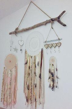 Boho Dreamcatcher, Dream Catcher Boho, Home Decor, Craft, Child Room, Decoration Home, Room Decor, Interior Decorating