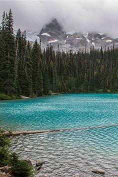 Middle Joffre Lake, British Columbia, Canada photo via stella