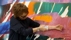 "Katharina Grosse: Painting with Color | ART21 ""Exclusive"""