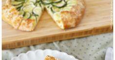 Kleines Kulinarium: Zucchini Galette mit Ricotta