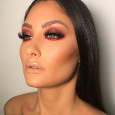 Gorgeous Makeup: Tips and Tricks With Eye Makeup and Eyeshadow – Makeup Design Ideas Glam Makeup, Formal Makeup, Flawless Makeup, Cute Makeup, Gorgeous Makeup, Pretty Makeup, Skin Makeup, Makeup Inspo, Bridal Makeup