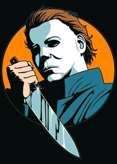 These descriptions are killing me Halloween Film, Halloween Painting, Halloween Horror, Halloween 2018, Michael Myers Drawing, Horror Artwork, Horror Icons, Arte Horror, Scary Movies