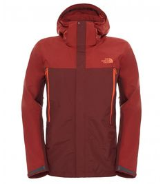 The North Face Men's Observatory Jacket Sequoia Red/Brick House Red