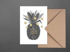 Weihnachten - Weihnachtskarte / Suddenly Christmas - ein Designerstück von…
