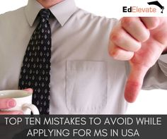 While applying for the top MS programs in USA Universities, Indian students make many common mistakes. Read more to learn how to study MS in USA Ms In Us, Usa University, Top Ten, Mistakes, How To Apply, Learning, Blog, Tops, Studying