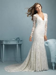 Eep! Allure Bridals takes my breath away! Find this beauty at #WeddingWonderland!