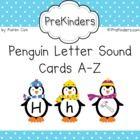 Valentines Letter Sound Cards AZ