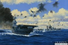 USS Yorktown at the Battle of Midway