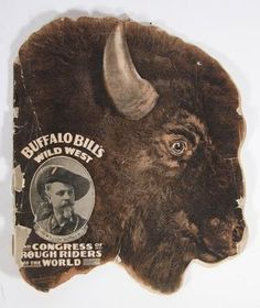 Program, Buffalo Bill Wild West Show