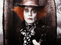 Mad Hatter.gifs - Alice in Wonderland (2010) Photo (28259948) - Fanpop