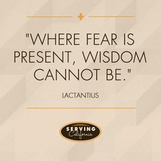 Don't let your fear cripple you.