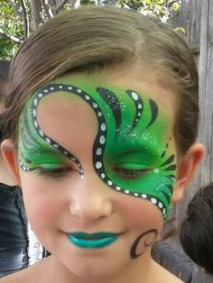 Face Painting swirl