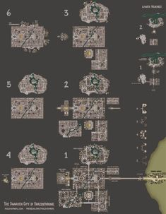 This map has taken hours to draw. It has 497 buildings with 2247 rooms across 6 floors and it's still not finished. When it is, I think it might be the largest hand-drawn fantasy map ever made. There are versions of this at a usable size in the comme Dwarven City, Cartographers Guild, Building Map, Scale Map, Fantasy Map, Fantasy City, Fantasy Artwork, City Layout, Map Pictures