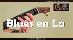 Cours de Guitare : Blues débutant - Shuffle en La - YouTube