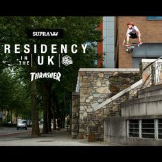 Neen, Romar, Lizard King, Muska, Greco, Furby, Penny, Ellington, Romar, Boo, Stevie Williams, the list of riders from Supra's recent 'Residency in the UK' tour is all time.  Whilst Lizard King takes over the reigns from Muska as 'Megaphone guy who spends more time being a pain in the dick than actually skating', the rest of the 'krew' (skate pun) take on tsome of worlds worst concrete like men with a 'deathwish'.  Seriously, somebody stop me.  http://kidsonstoke.com/?p=1662