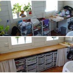 Tvättstuga & städskåp   Förvaringsdrottningen