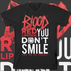 49d28c015 Ghost Town Shirt Blood Red Lipstick, Red Lipsticks, Ghost Town Band, Scene  Outfits