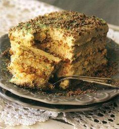 Maak die tert vandag sodat dit die hele naweek kan hou! Tart Recipes, Sweet Recipes, Baking Recipes, Dessert Recipes, Yummy Recipes, Apple Desserts, Custard Recipes, Cold Desserts, Baking Desserts