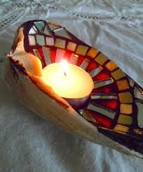 clam shell tealight - Google Search