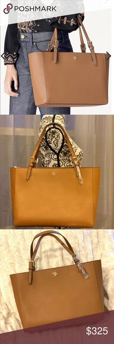 ddb56371eb2 🔥NWT🔥TORY BURCH EMERSON BUCKLE TOTE LARGE 🚨READ🚨READ🚨READ🚨 👉IF YOU  HAVE QUESTIONS OR NEED MORE PHOTO. PLEASE ASK. LEAVE COMMENT BELOW.