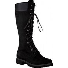 Ik vond dit op Beslist.nl: Zwarte Timberland Lange laarzen C8167R