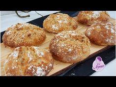 Bu kahvaltilik ekmekler hepinizde aliskanlik yapacagi gib birdaha disaridan ekmek satin almayacaksin - YouTube Hamburger, Super, Bread, Youtube, Food, Satin, Breads, Kochen, Pastries Recipes