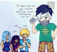 It's okay Zane my too me too<<< honestly imma 😂😂 Aphmau Characters, Minecraft Characters, Aphmau And Aaron, Travis Aphmau, Aphmau Pictures, Aphmau Youtube, Aphmau Memes, Zane Chan, Aphmau Fan Art