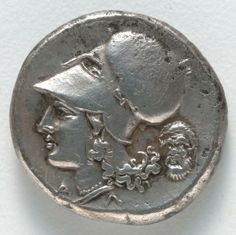 Silver stater: Athena (reverse), 350-338 BC Greece, Corinth, 4th Century BC.