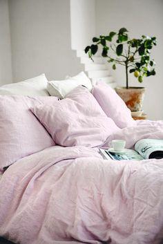 Lovely Linen Påslakan Dusty Pink - Kardelen - Dennys Home