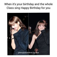 Singing Happy Birthday, It's Your Birthday, Funny Laugh, Hilarious, Taylor Swift Photoshoot, Class Birthdays, Nct Group, Pink Quotes, Blackpink Memes