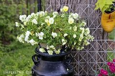 How To Make Gorgeous Garden Containers