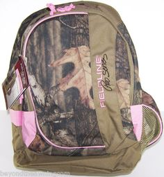 9.99 CAMO Pink Bookbag BACKPACK NEW Pro Series REALTREE School College  Hunting KID99  eBay  c99sale 16f1a3754282c