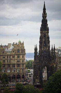 The Scott Monument, Edinburgh, Scotland