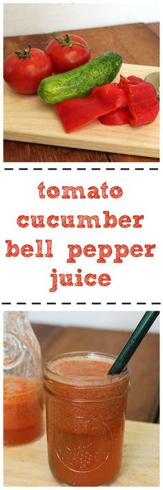 Tomato cucumber bell