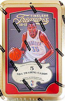 2012-13 Panini Timeless Treasures Basketball Cards Hobby Box - New!!  $100.00