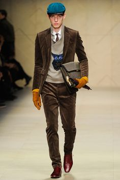 Burberry Prorsum Fall 2012 Menswear