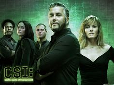 CSI  ( I really miss Grissom, Catherine and Warrick)