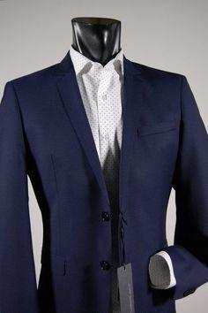 62b73e8c89c8 Collection Abbigliamento Moda Uomo Negozio Online. Fantasia. Abito bluette micro  fantasia john barritt slim fit