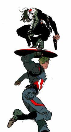 Steve Rogers x Bucky Barnes - Stucky