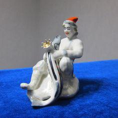 Vintage USSR Porcelain soviet figurine emelia  LFZ ussr retro