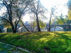 Boa tarde :D A Ponte Velha de Arcos de #Valdevez vista da Ínsua do Vez. A tarde de hoje promete muito Sol e nem sequer está frio - http://ift.tt/1MZR1pw -