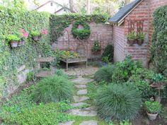 My secret garden.  Cindy Brown Design