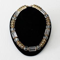 Vintage Yves St. Laurent Lucite Necklace #toronto