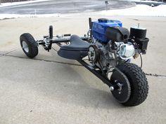 Reverse trike go kart finished pictures - DIY Go Kart Forum