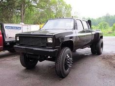 1989 chevy dually lifted