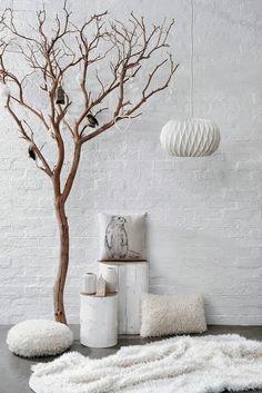 Du blanc, chic et chaud pour l'automne | blog Nat et nature